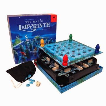 Magic Labyrinth Review   Board Game Barker