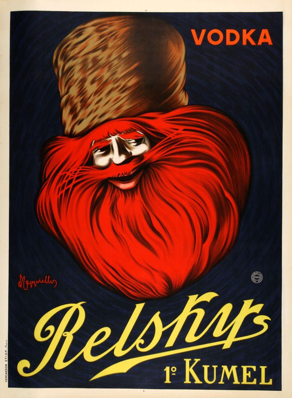 Relsky Vodka Large Postergroup Original Vintage Posters French Poster Vintage Advertisements Vintage Posters