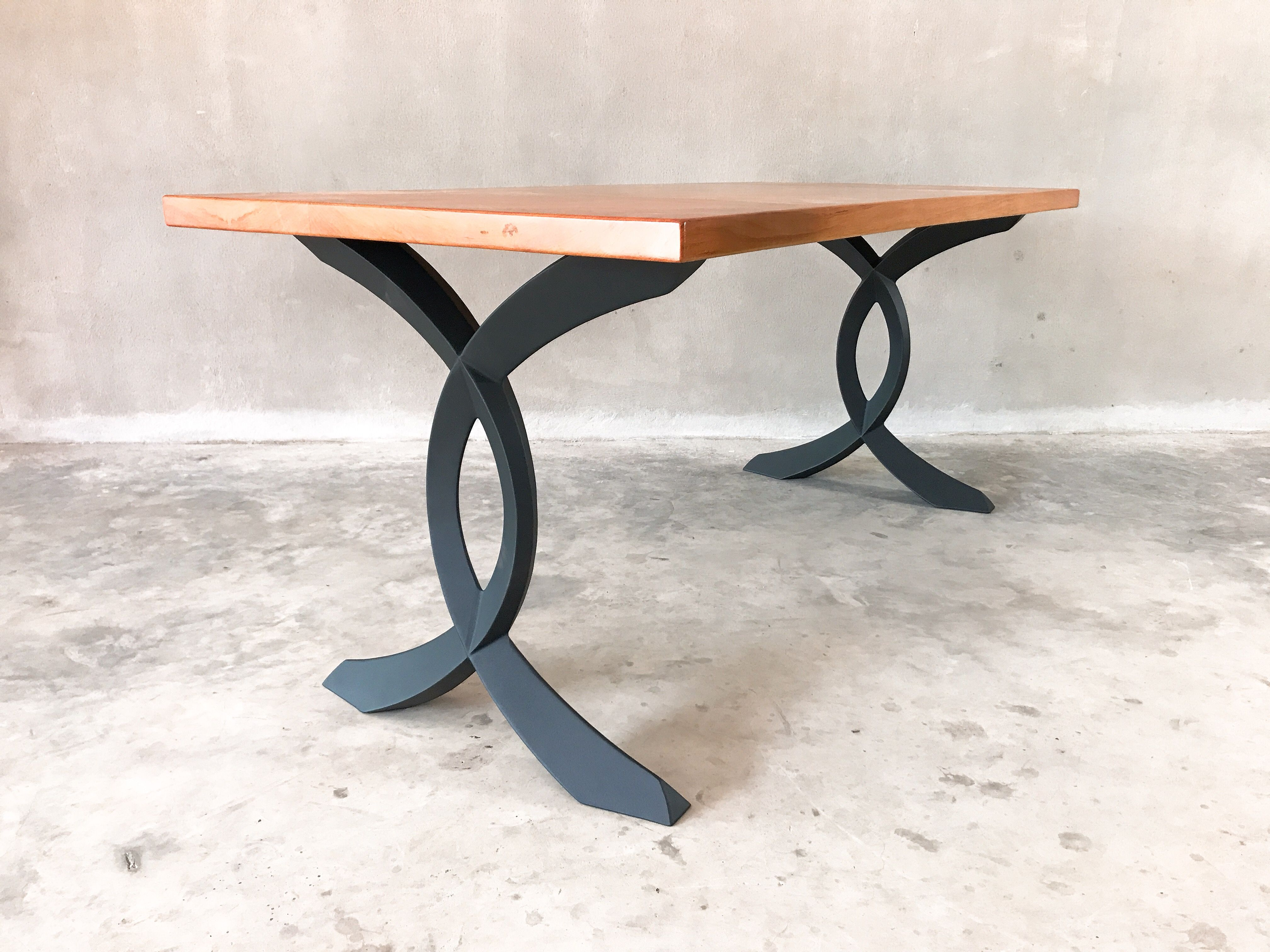 Table Legs Base For Live Edge Top Metal Table Metal Table Base Metal Table Legs [ 3024 x 4032 Pixel ]