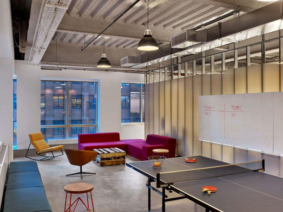 Relax Room Inside The Modern Office Design