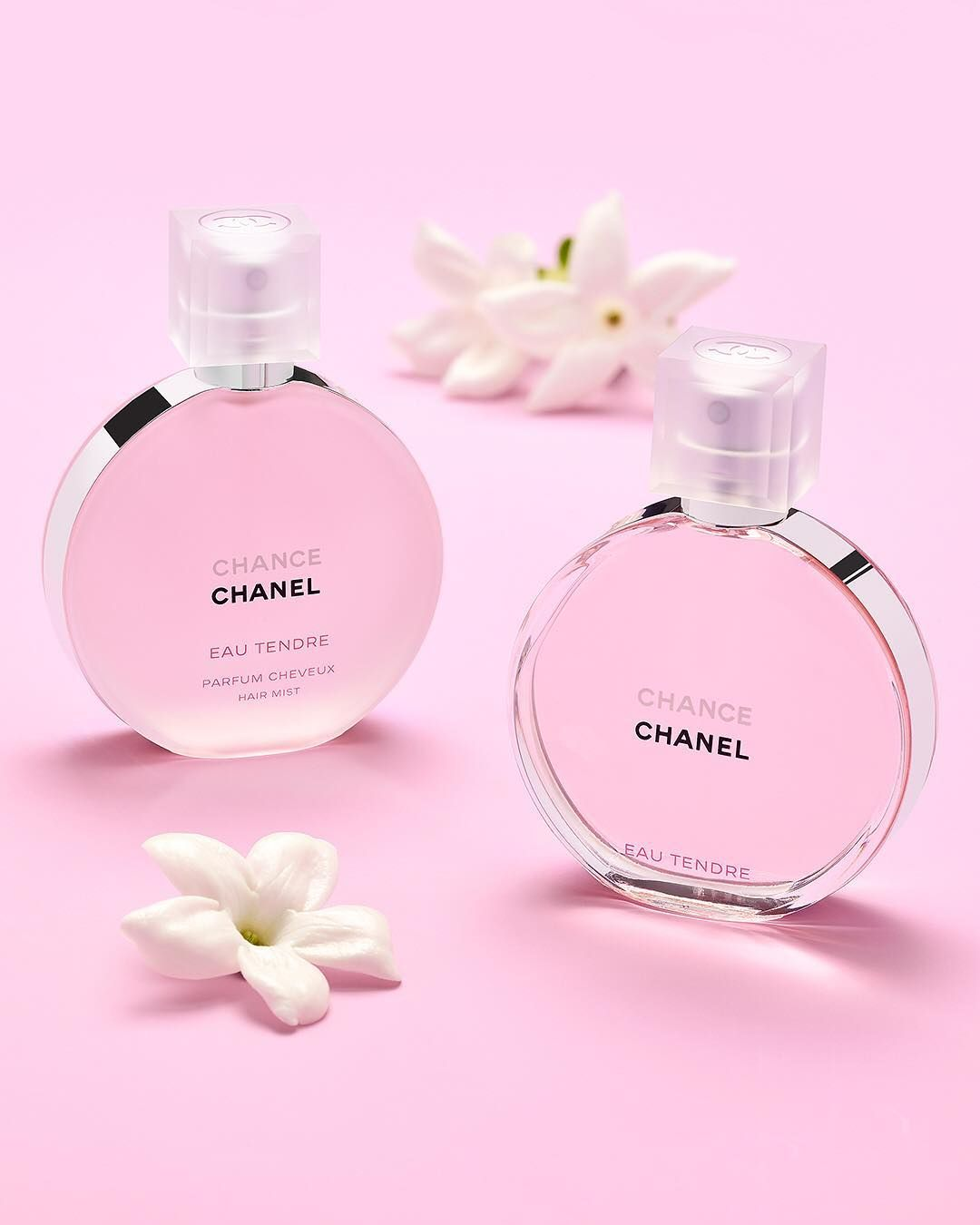 Multiply Your Chances With Chance Eau Tendre By Chanelofficial A Radiant Fruity Floral Fragrance Available In A Delicate Hair Mist And Vune Sperky