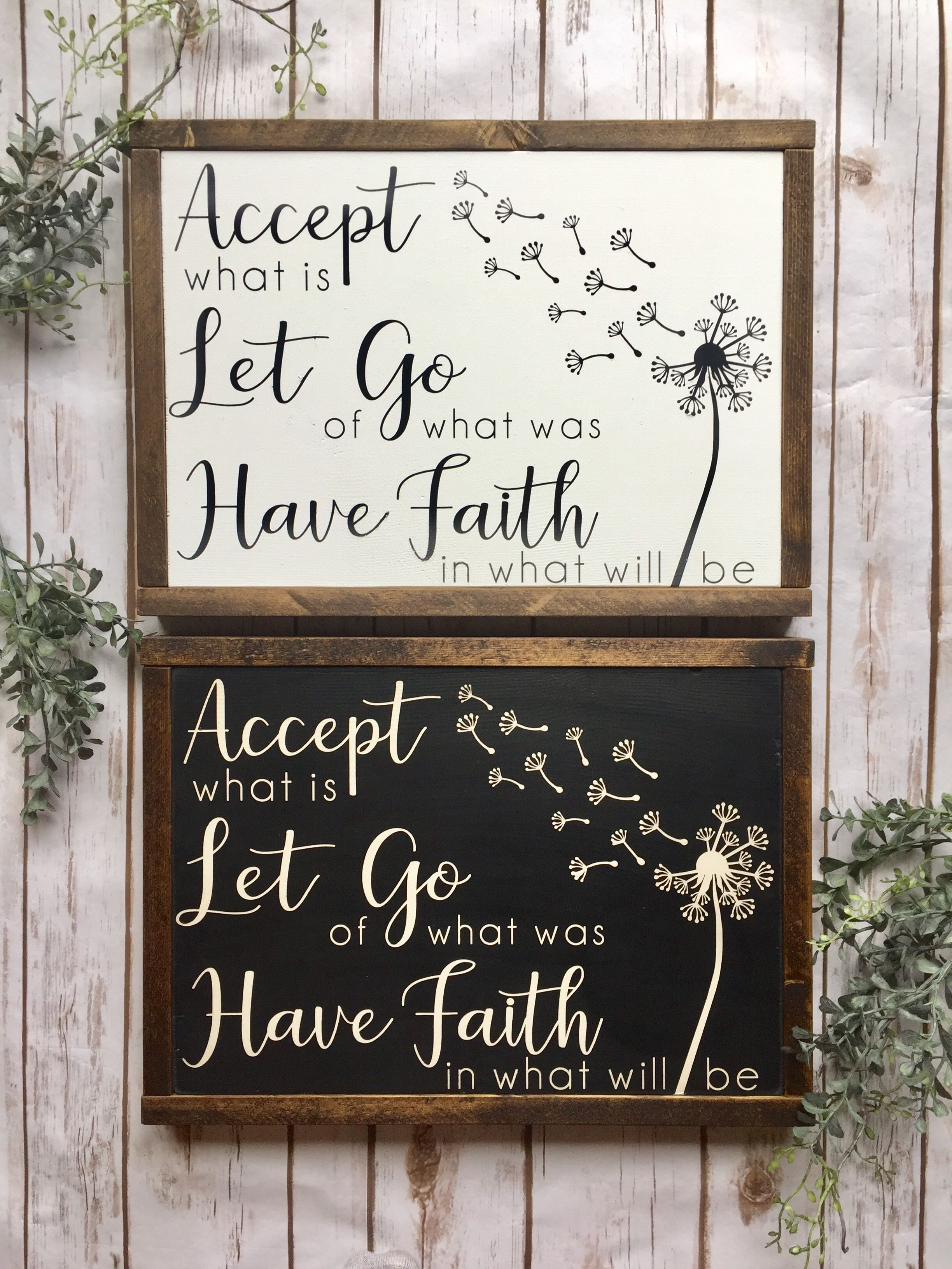 Accept What Is In 2020 Chalkboard Quote Art Art Quotes Decor