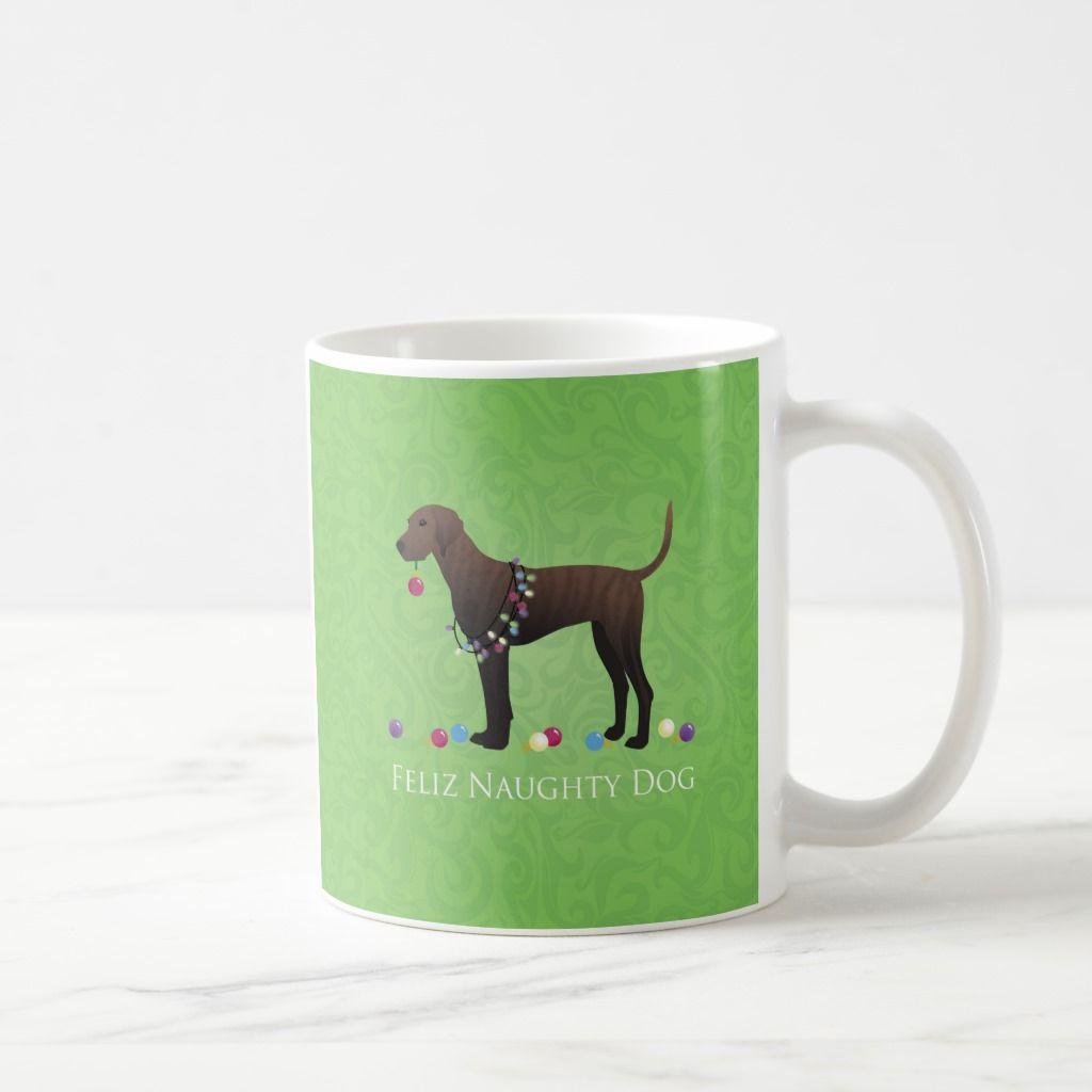Plott Hound Christmas Coffee Mug | Zazzle.com