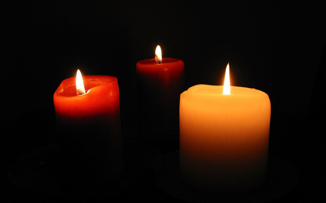 Widescreen Romantic Candle Light ,  Romantic Candlelight Pictures, Candlelight Memorial  1280x800 NO.22