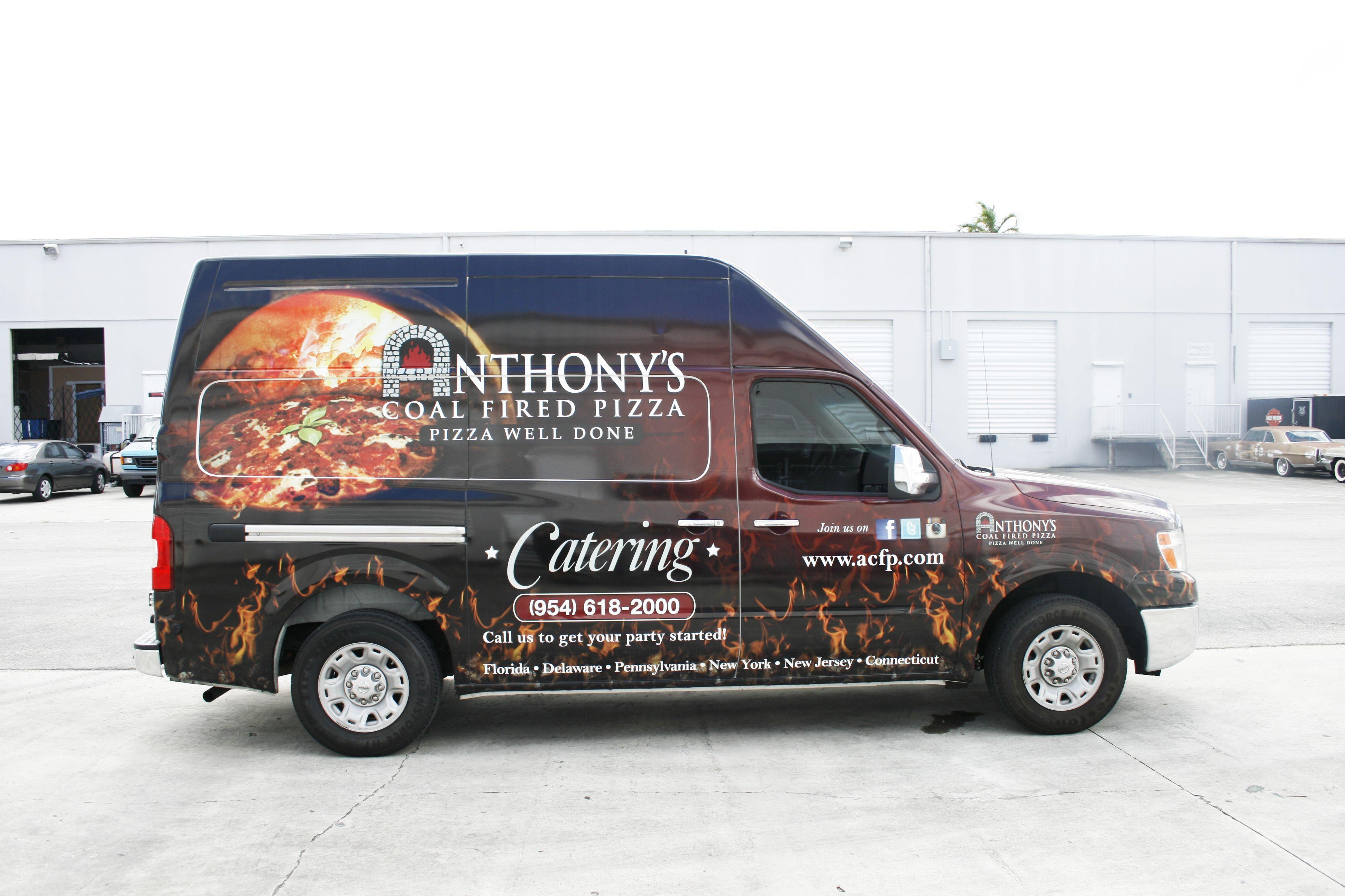 Nissan NV van vehicle wrap Fort Lauderdale Florida for