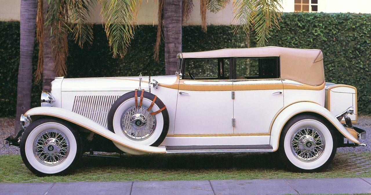 1930 auburn v 12 custom 4 door convertible phaeton [ 1280 x 672 Pixel ]