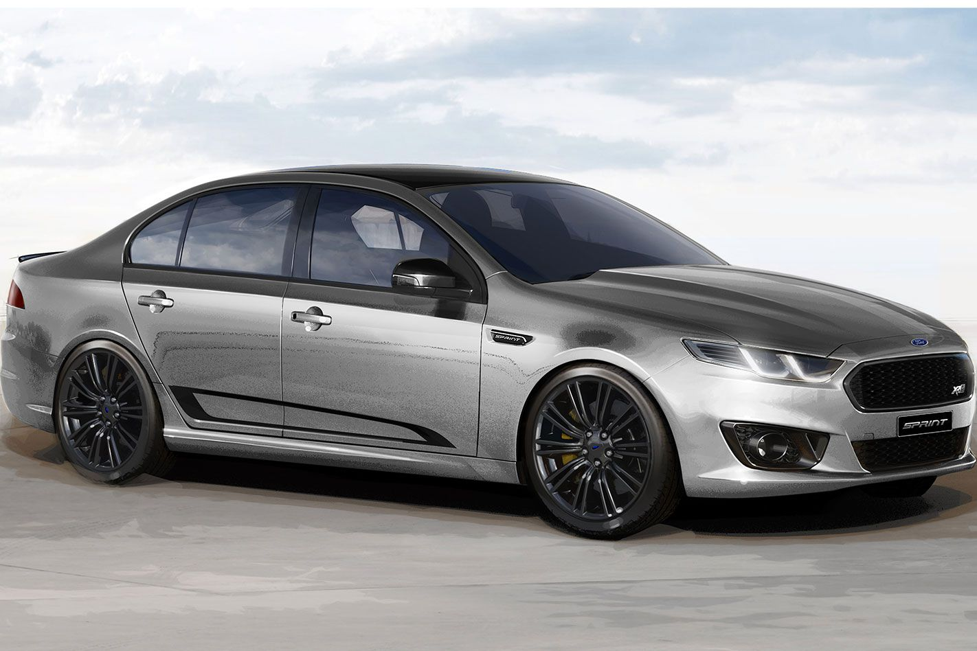 The Last Ever Ford Falcon Has Been Revealed With Images Ford Falcon Ford Falcon Xr8 Ford Mondeo