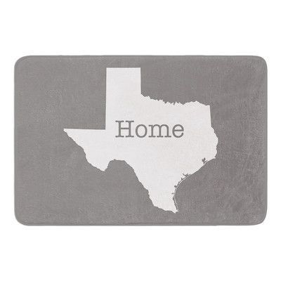 KESS InHouse Texas is Home by Bruce Stanfield Memory Foam Bath Mat
