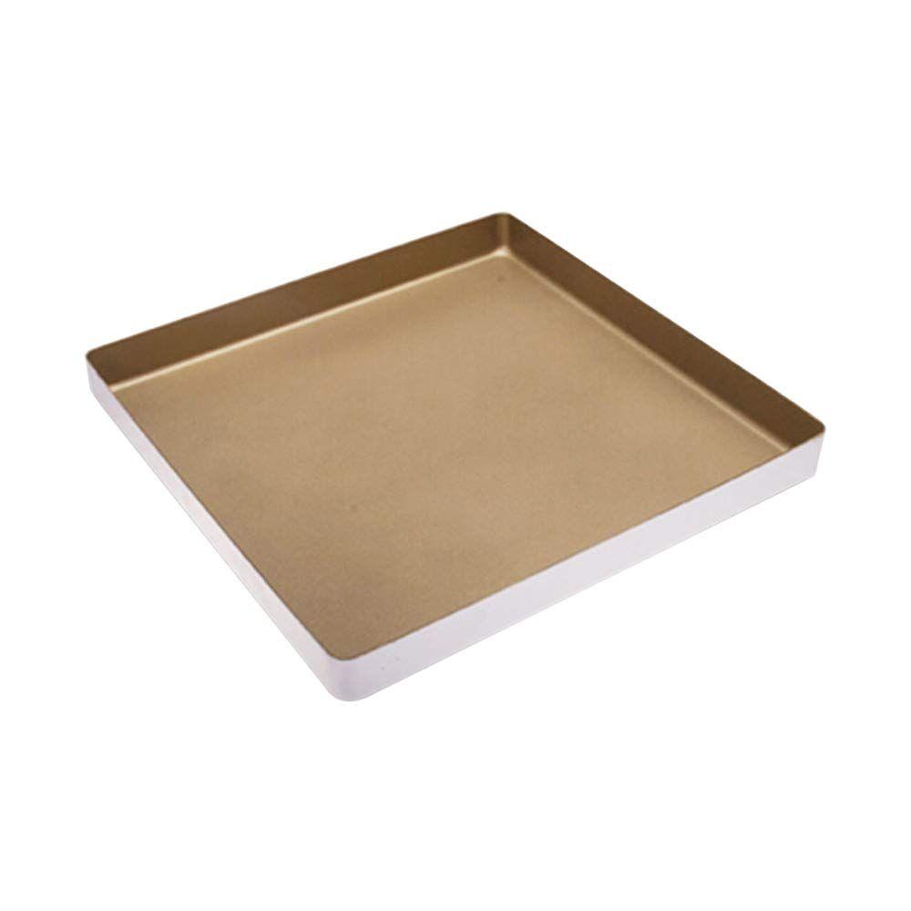 Bakerdream Nonstick Bakeware Aluminum Alloy Square Baking Pan Cake