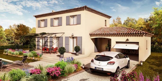 Villa g n ration classique villas la proven ale for Constructeur maison provencale