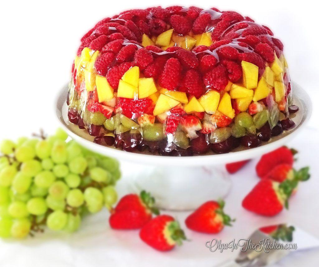 Fruity Gelatin Bundt Cake Dessert Recipe Cakes And Bakes