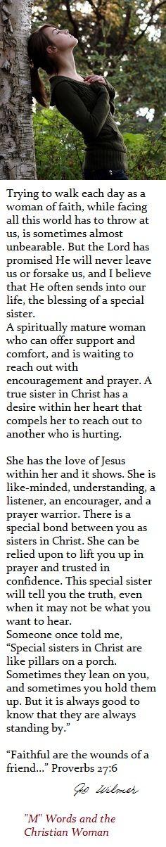 mwordsandthechristianwoman com | ✽ Dear Sister in Christ