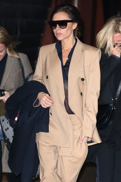 Victoria Beckham heads out and about in New York City.