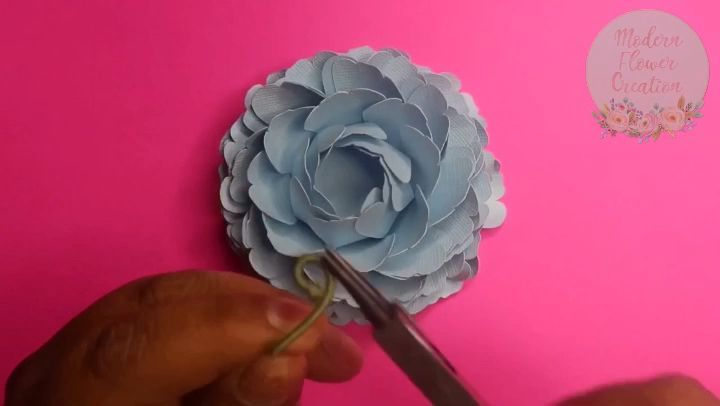 Mini Paper Peony Paperflowerswedding Paper Flowers Tutorial