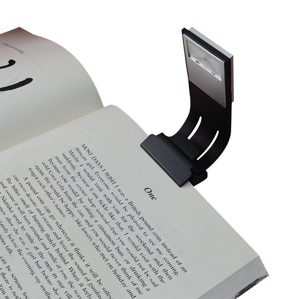Clip On Led Reading Light Lamp Flexible Arm E Reader Light With