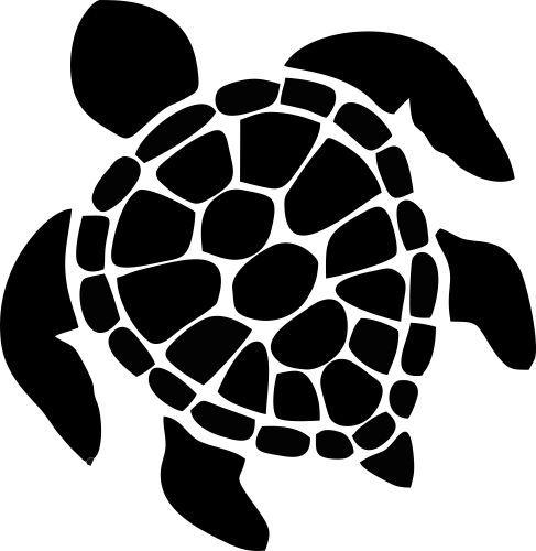Turtle Art Sea Turtle Vinyl Sticker 5 Stickers For Gals Decals