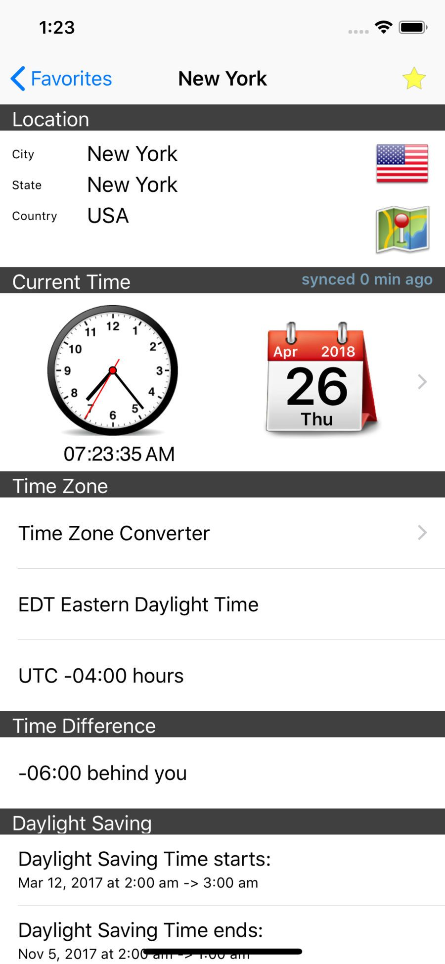 World Clock ¨C Time Zones TravelProductivityappsios
