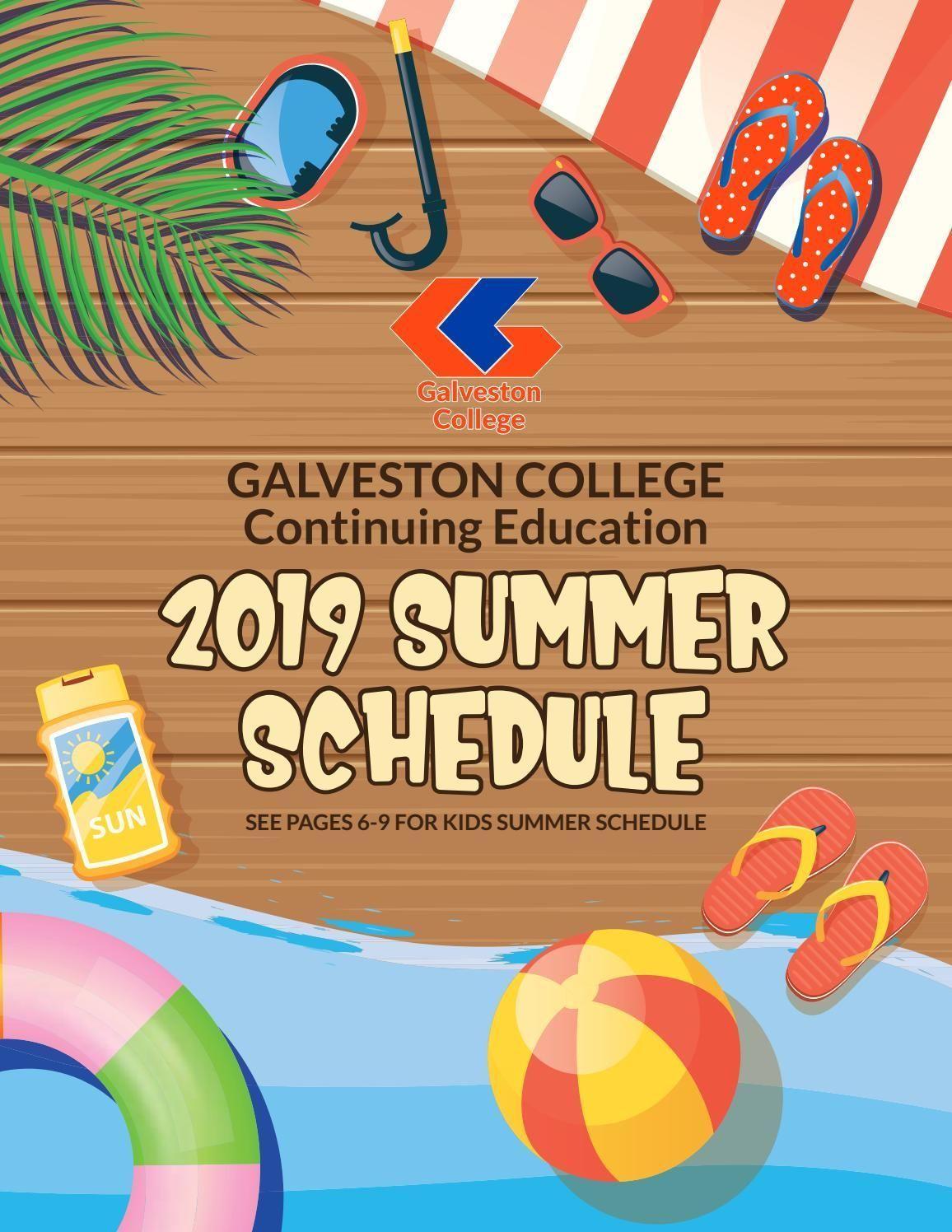 Galveston College Continuing Education 2019 Summer Schedule #summerschedule Galveston College Continuing Education 2019 Summer Schedule #summerschedule Galveston College Continuing Education 2019 Summer Schedule #summerschedule Galveston College Continuing Education 2019 Summer Schedule #summerschedule
