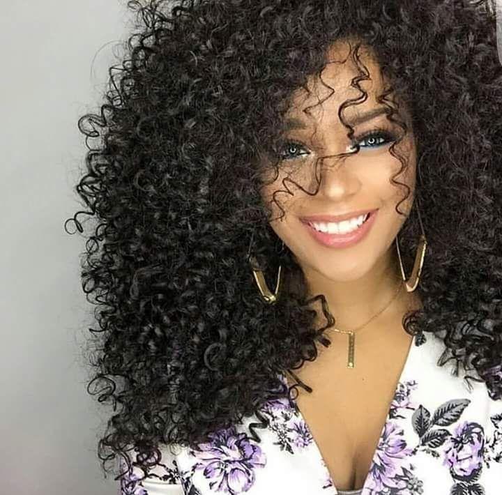 Amir Medium Long afro Kinky Curly wig