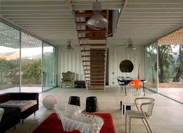 Infiski Architects shipping container house Next home Pinterest - Avantage Inconvenient Maison Ossature Metallique