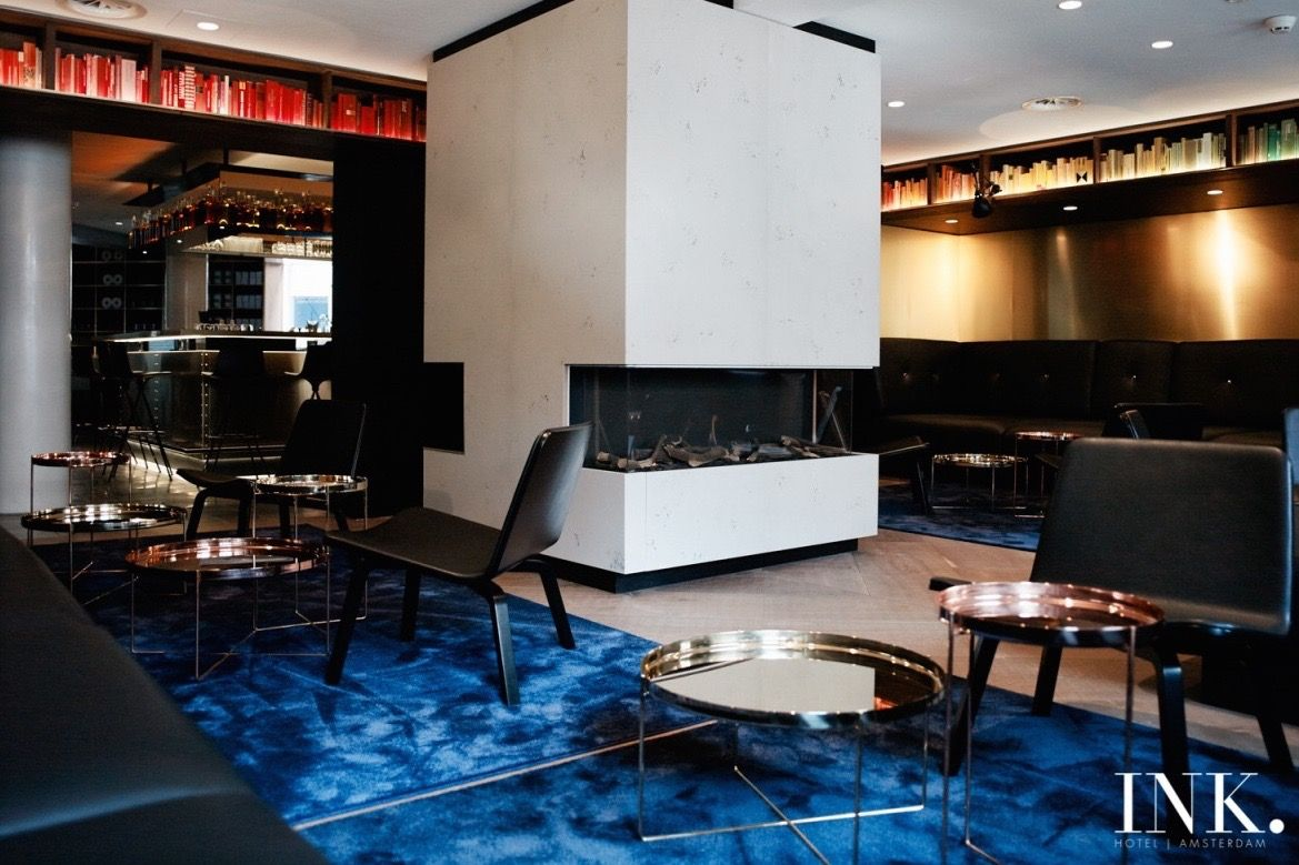 INK Hotel Amsterdam maakt kans op twee prestigieuze European Design Awards.