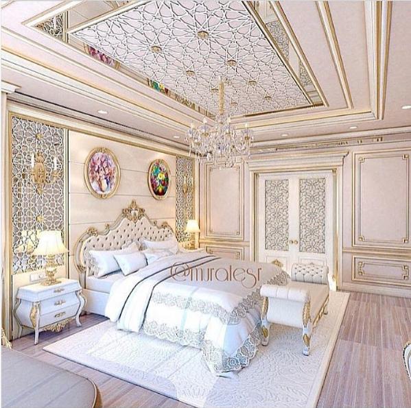 Saudi Villa Bedroom Decoraciones De Dormitorio