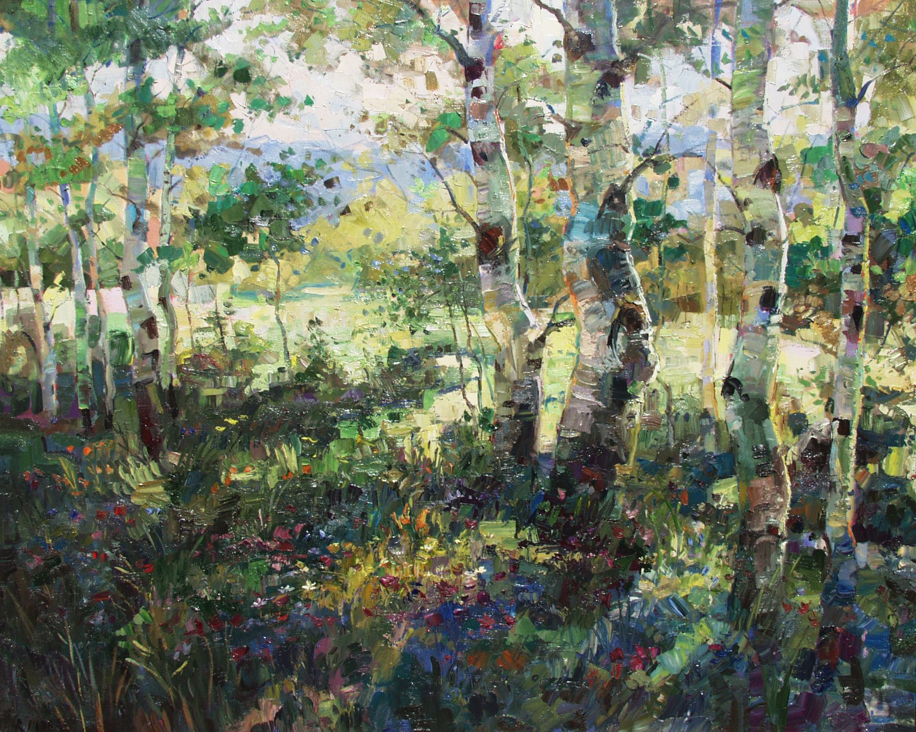 Robert Moore, American Impressionist - Available Aspen Index