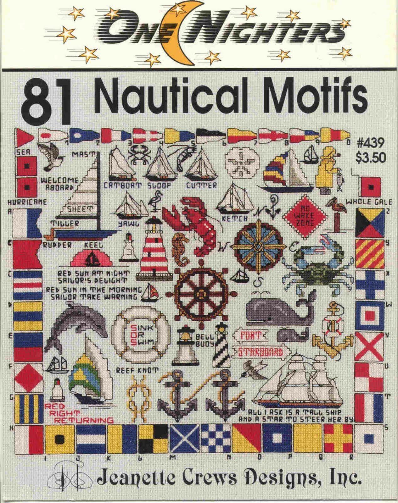 Brain clutter cross stitch pattern nautical motifs embroidery brain clutter cross stitch pattern nautical motifs bankloansurffo Gallery