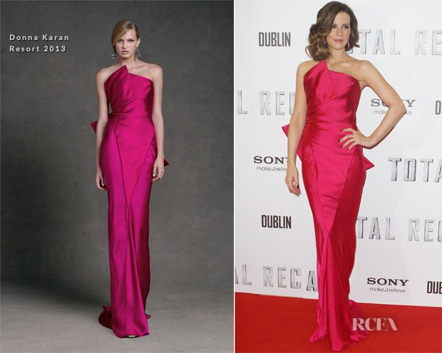 Kate Beckinsale In Donna Karan – 'Total Recall' Dublin Premiere ...