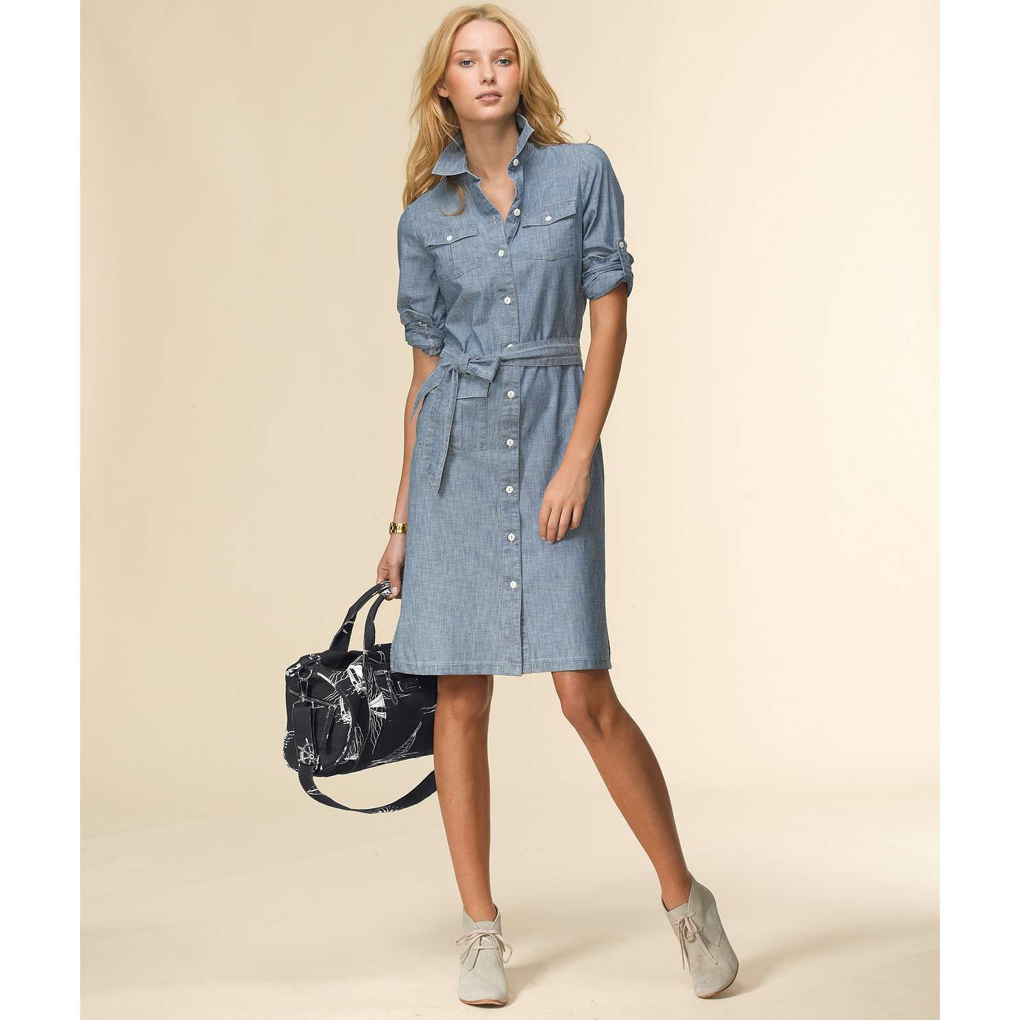 Chambray dresses for women images for Chambray 7 s