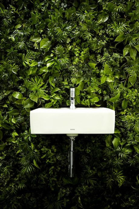 House Vision 2013 Tokyo Exhibition - Green Bathroom