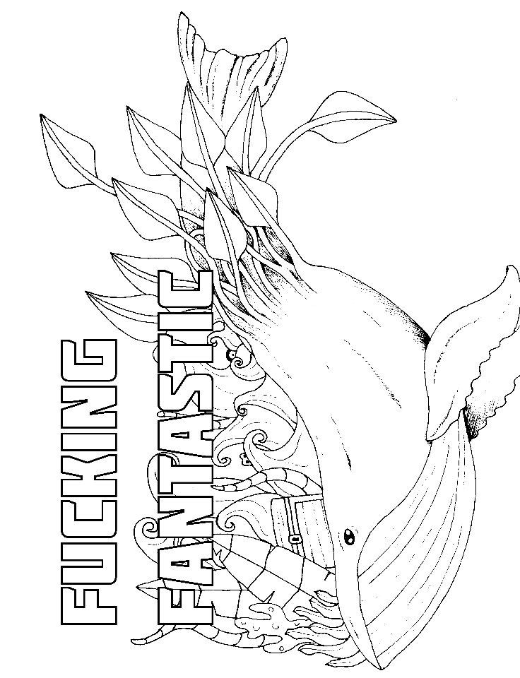 14 FREE Printable Swear Word Coloring Pages at Swearstressaway.com ...