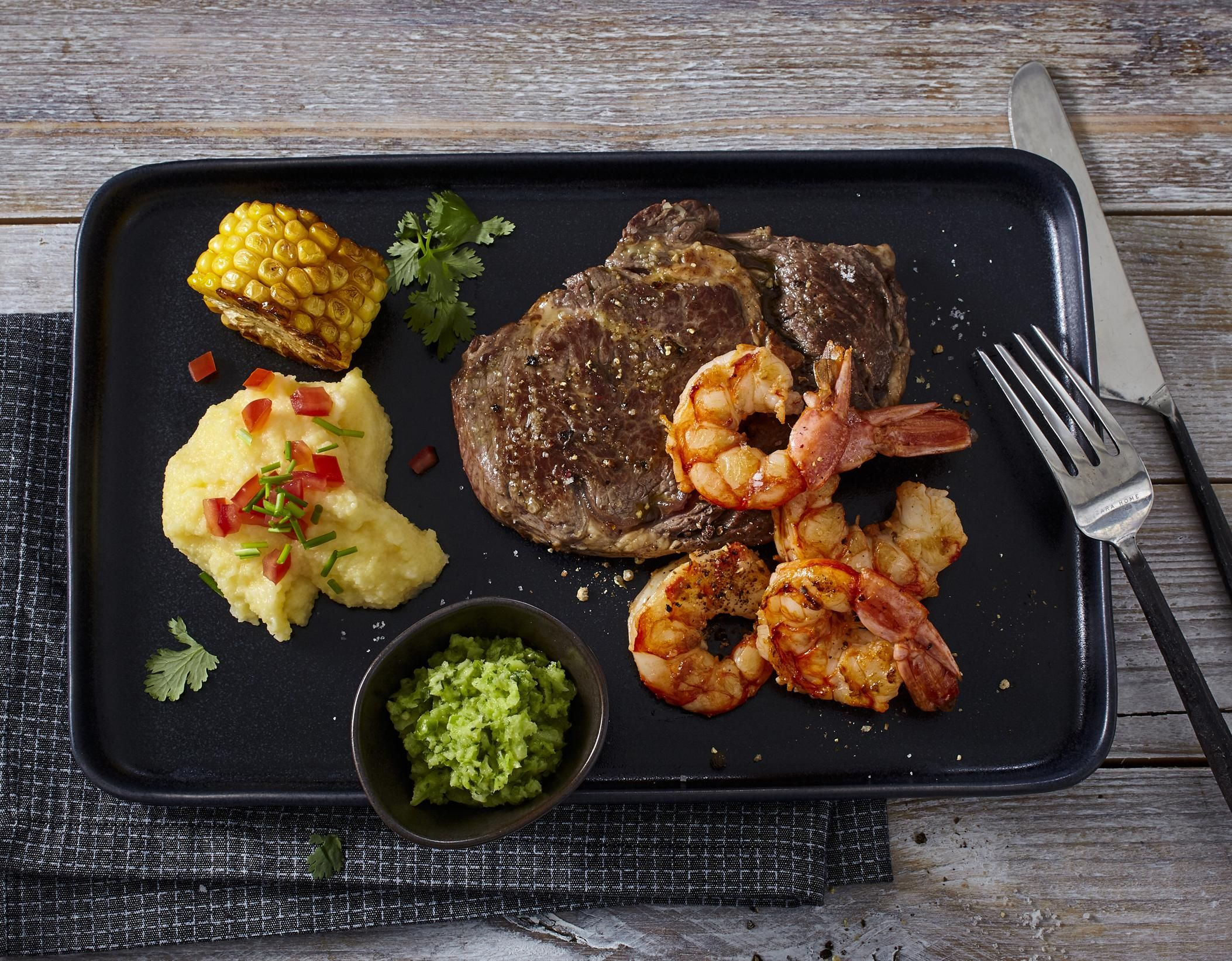 Surf And Turf Rezept Jamie Oliver