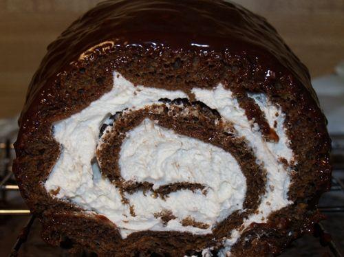 Homemade Little Debbie Swiss Roll Cake #rollcake