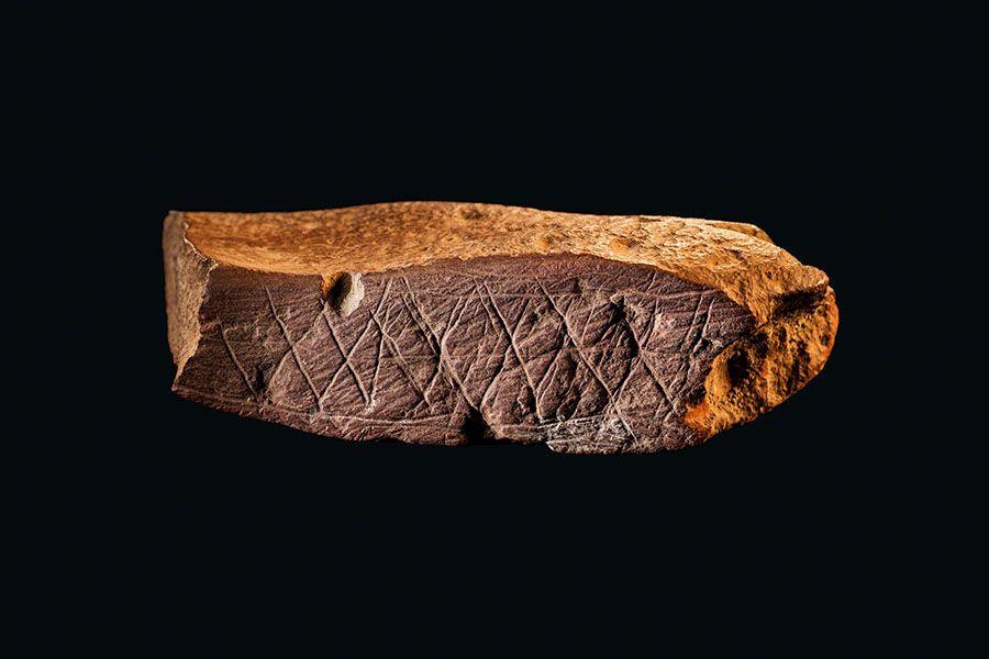 Arte prehistórico más antiguo del mundo Cueva de Blombos