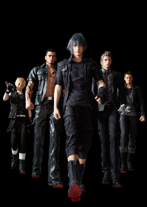 Final Fantasy XV Character Bios Revealed - IGN