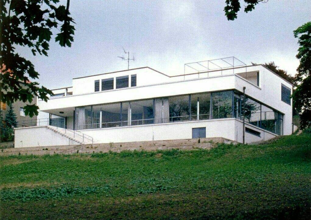 Casa tugendhat de mies van der rohe obras de autores for Casa minimalista de mies van der rohe