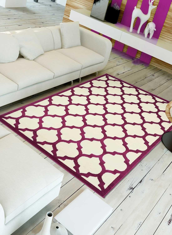 Tapis de salon BC STELY violet | Tapis de salon | Pinterest | Salons
