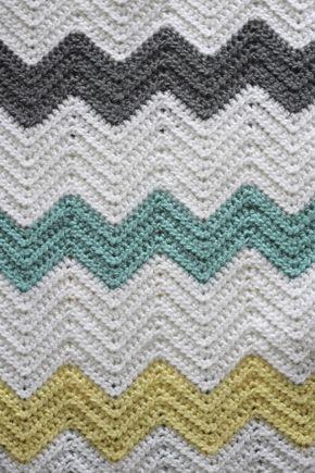 Hdc Crochet Chevron Free Pattern Emily Vance Blog Chevron