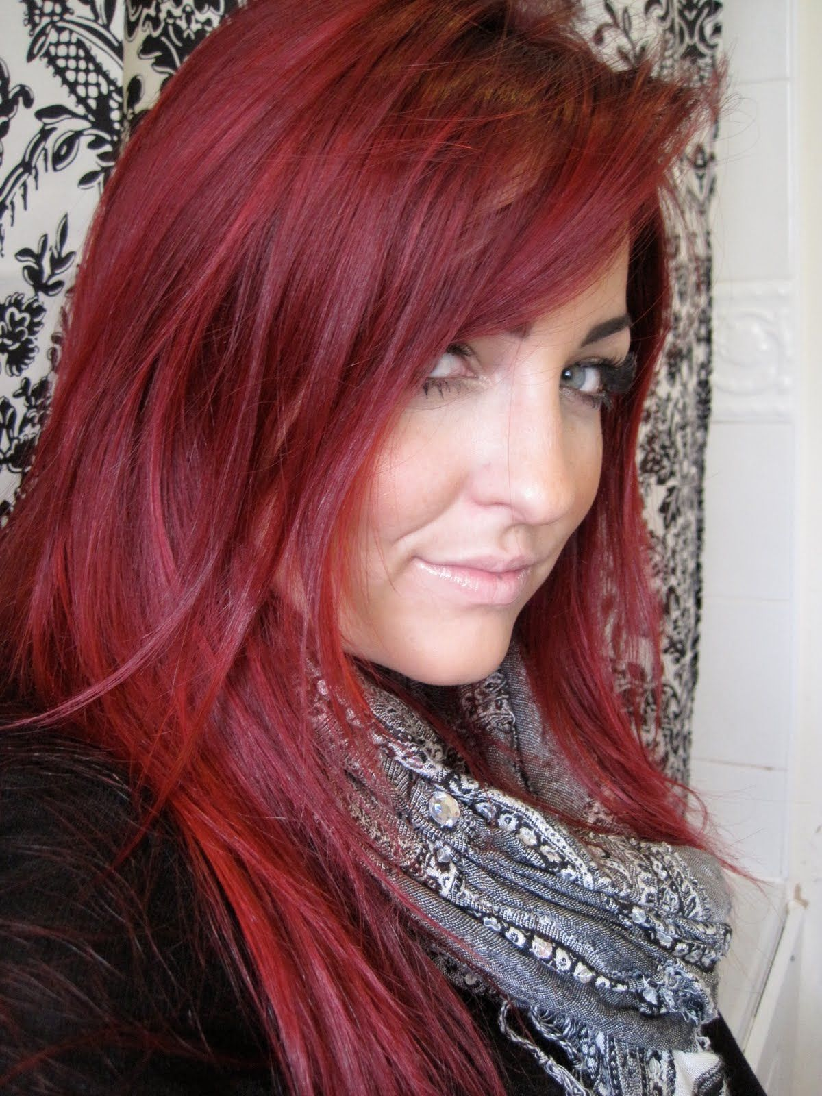 Cherry E Red Hair Color Fudge