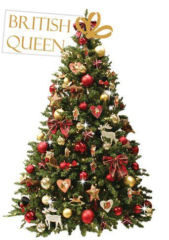 British Queen | versierdekerstboom.nl #kerstboomversieringen2019