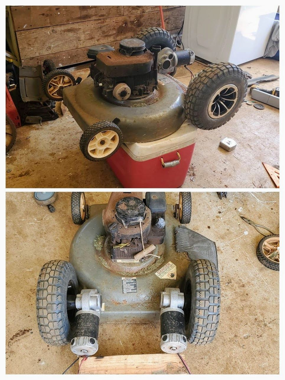 Rc Lawn Mowers By Jesse Makermotor Robotic Lawn Mower Lawn Mower Mower