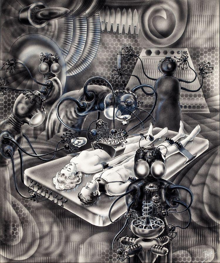 Vintage Sci Fi Illustrations Retro Science Fiction: Frank R. Paul (1884–1963)