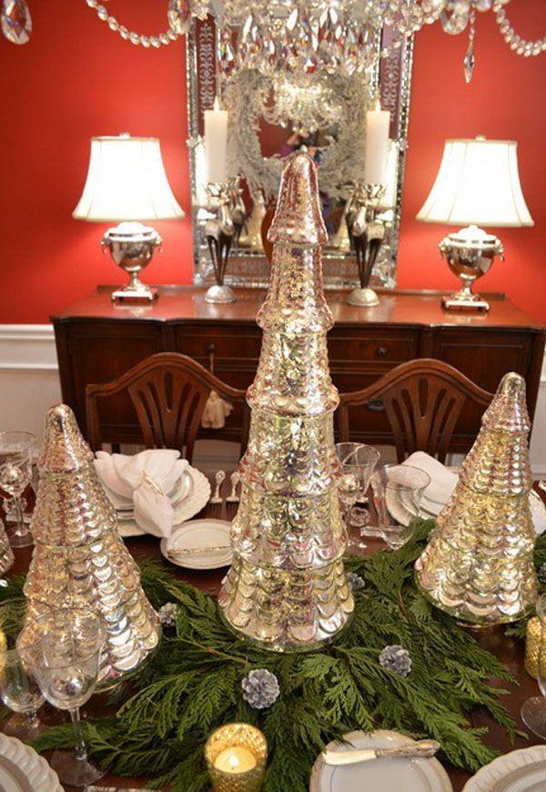 Page Not Found Stylish Eve Mercury Glass Christmas Tree Christmas Tree On Table Mercury Glass Christmas