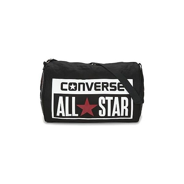 88a6504d3ff Converse LEGACY BARREL DUFFEL BAG Sports bag ($45) ❤ liked on Polyvore  featuring bags, luggage and black