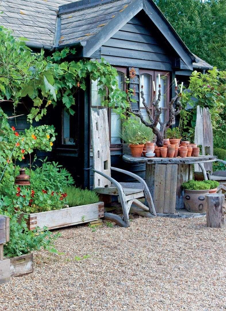 An Artistic And Bountiful Garden Period Living Studio