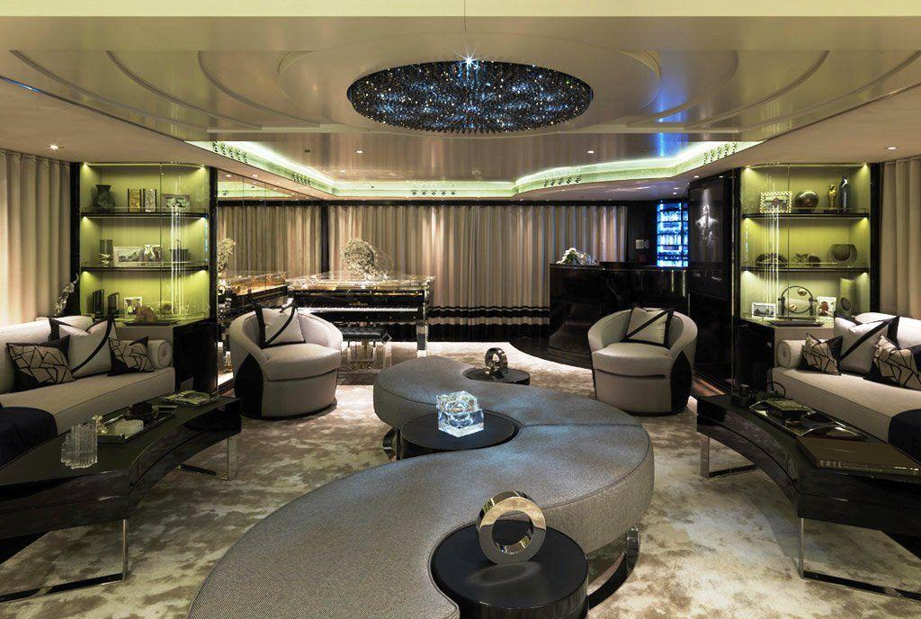 Superyachts Interior Design Yacht Candyscape Ii Interior