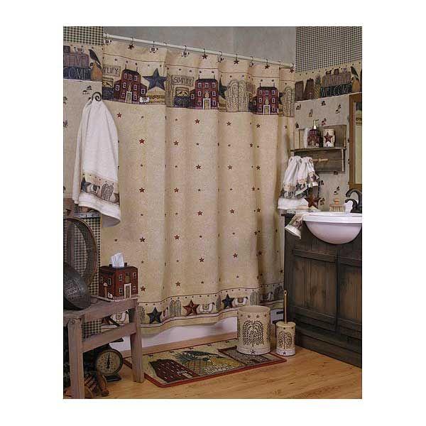 Americana Bathroom Decor Ideas For An American Themed Interior