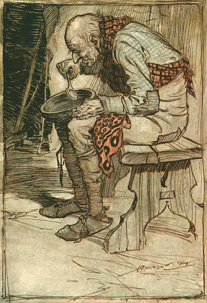 ARTHUR RACKHAM Children Book Illustrator Fairy Tale Art Deco Hi Res Art Print CD