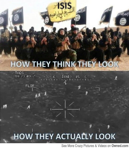 They'll declare a jihad on this post.